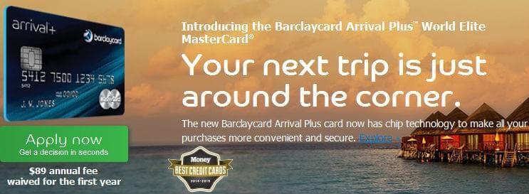 Barclaycard Arrival Plus MasterCard