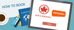 How to Book Air Canada Aeroplan Awards