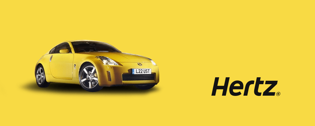 Earn 600 Rapid Rewards Points with a Hertz Car Rental
