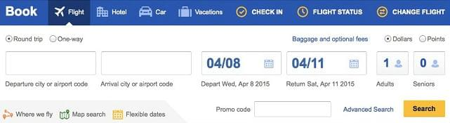 Online-search-for-Southwest-Rapid-Rewards-Seats
