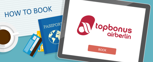 How To Book Airberlin Topbonus Awards