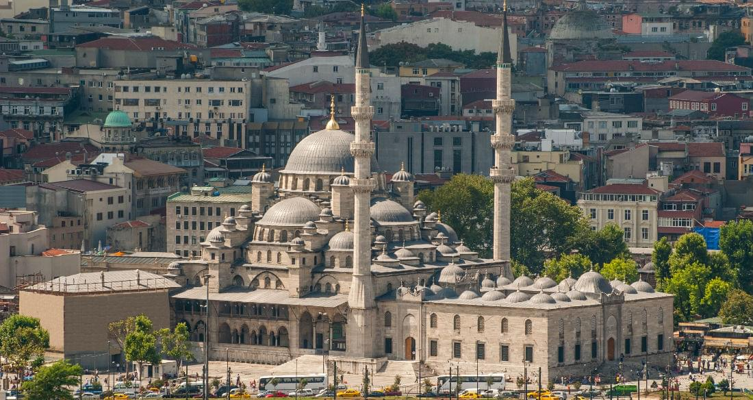 East Meets West in the Ancient City of Istanbul