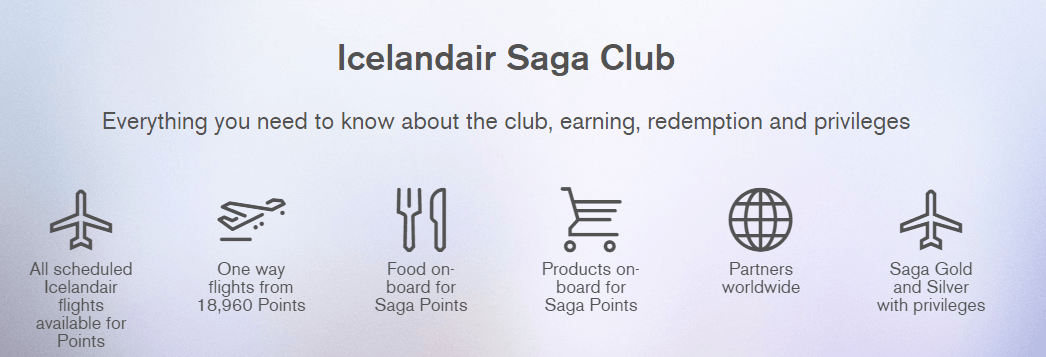 Ways of Saga Points redemption