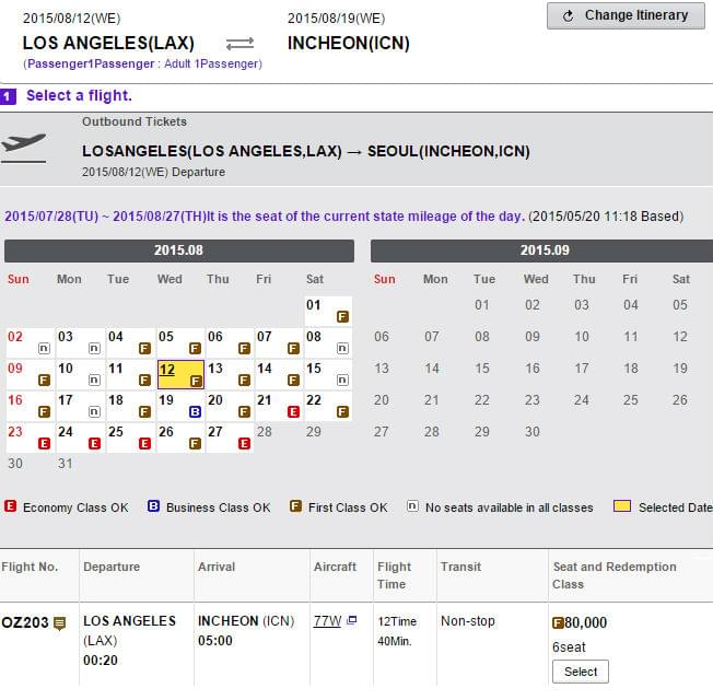 Booking-High-Season-example-Asiana-Club