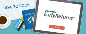 How to Book Frontier Airlines EarlyReturns Awards