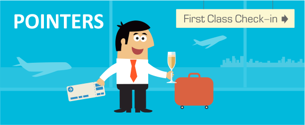 Checklist for Flying International First Class