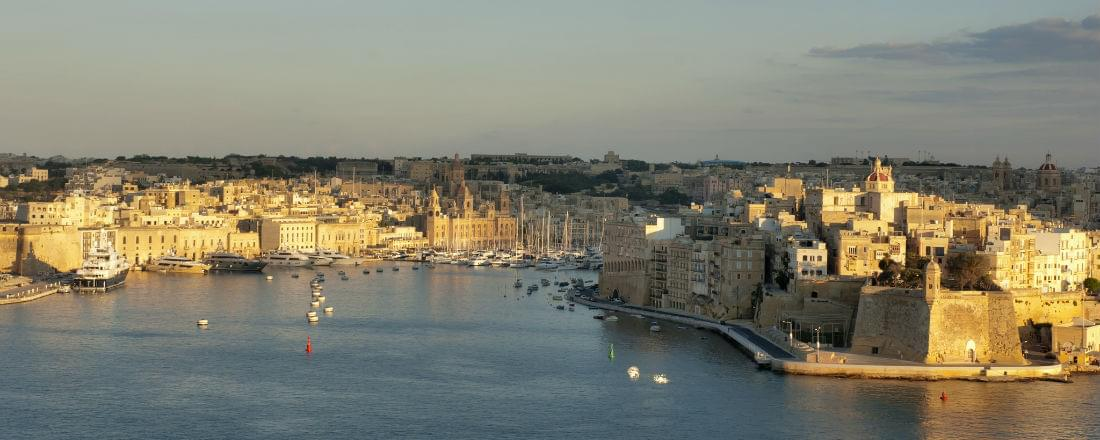 The Baroque Palaces and Gardens of Valletta, Malta