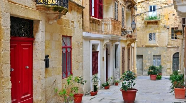 A charming Corsican street