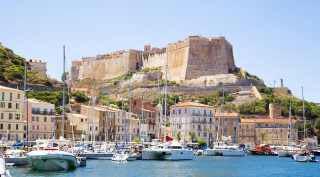 Port de Plaisance de Bonifacio in Corsica