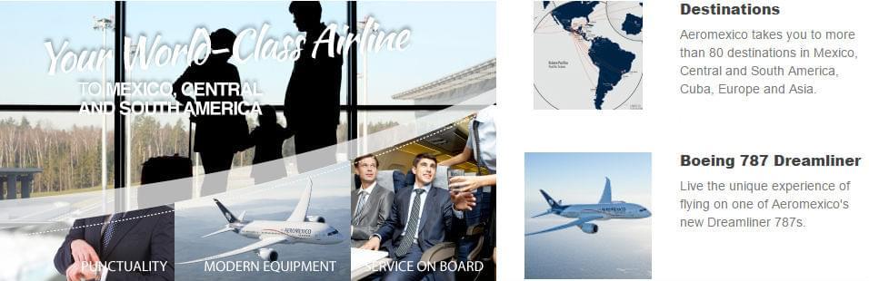 Aeromexico-destinations