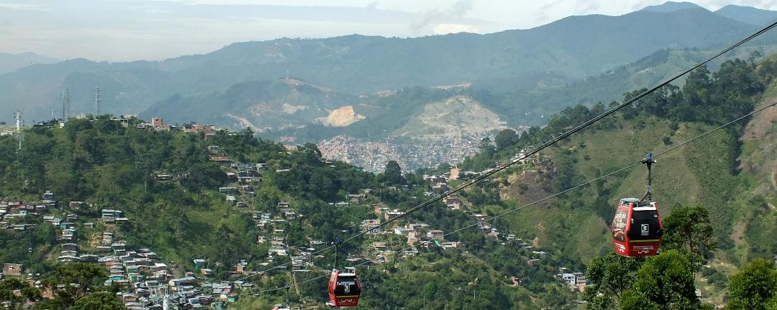 Medellin's Magnificent Mountain Setting