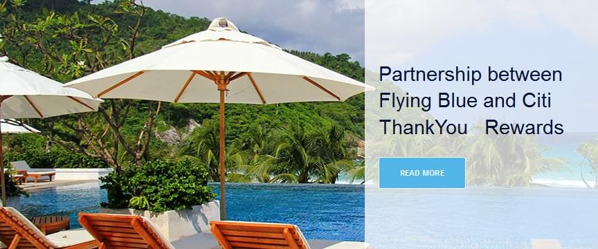 Partnership between Citi and FlyingBlue