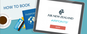 How to Book Air New Zealand Airpoints Awards