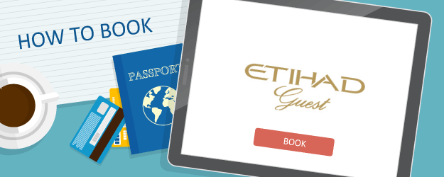 How to Book Etihad Airways Guest Awards