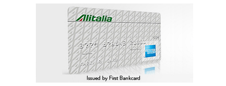The Alitalia Amex card