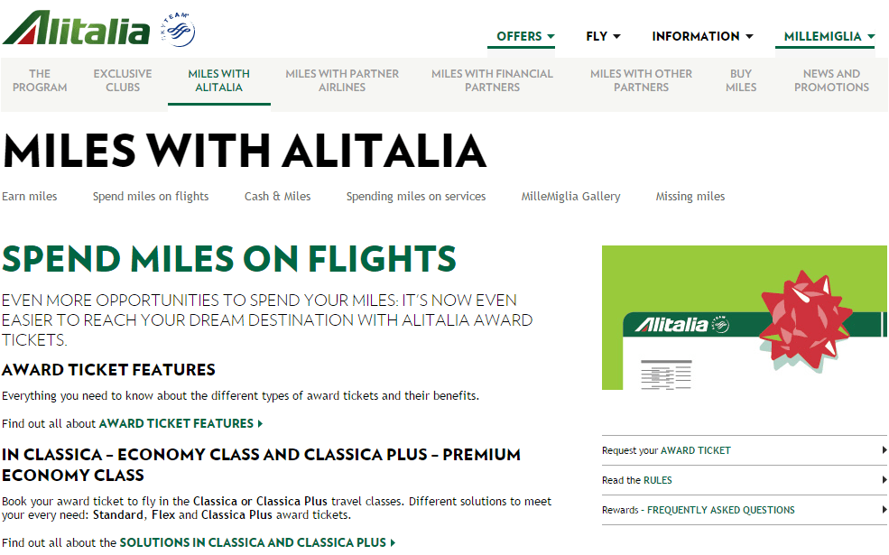 How to Book Alitalia