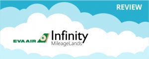 EVA Air Infinity MileageLands Program Review
