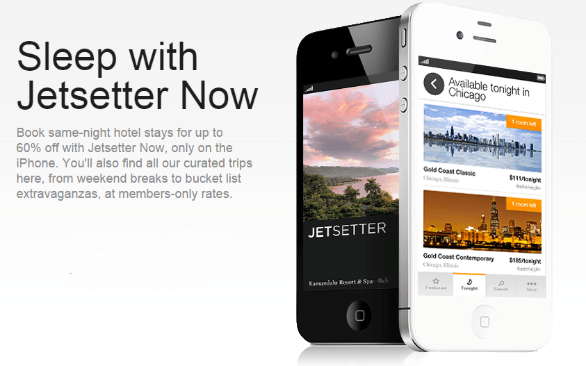 JetSetter offers last-minute deals on luxury hotels and all-inclusive resorts