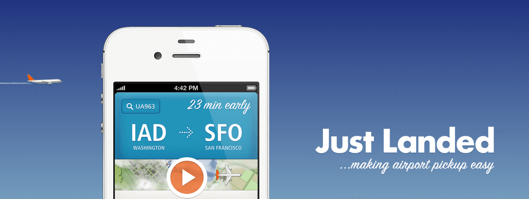 Just Landed helps you make timely airport pickups