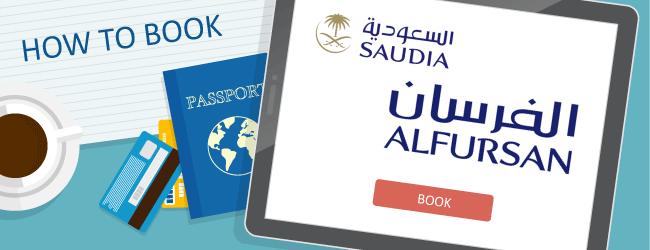 How to Book Saudia Alfursan Awards