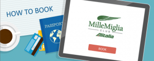 How to Book Alitalia MilleMiglia Awards