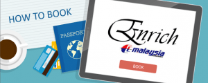 How to Book Malaysia Airlines Enrich Awards
