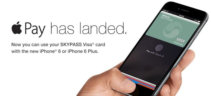 Apple Pay is available with the SKYPASS Visa Signature card