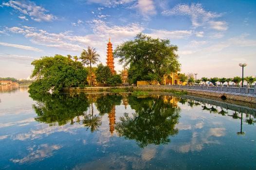 Tran Quoc Pagoda in Hanoi