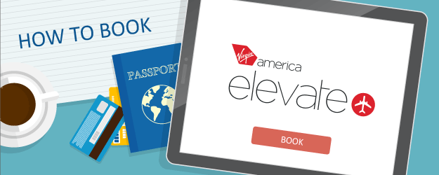 How to Book Virgin America Elevate Awards