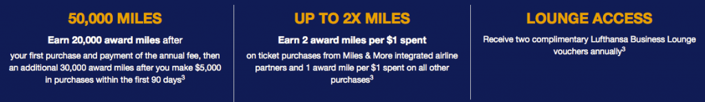 Miles & More MasterCard benefits