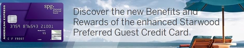Starwood Preferred Guest and American Express have added new perks