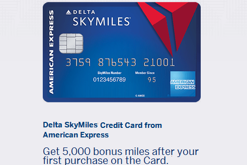 Delta skymiles american express credit card review the delta skymiles credit card is a good choice for collecting additional skymiles as its earning scheme on purchases is on par with other delta cards reheart Images