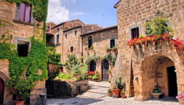 A medieval Tuscan village