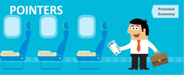 Travelers On Board with Premium Economy Perks