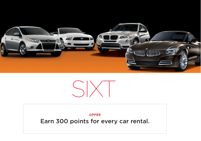 Get bonus Virgin America Elevate points from Sixt