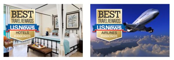 U.S. News' annual report ranks both airline and hotel loyalty programs
