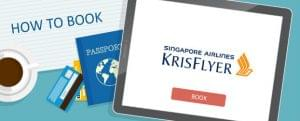 How to Book Singapore Airlines KrisFlyer Awards