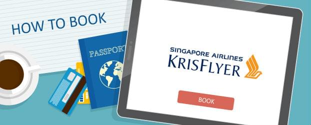 How to BookSingapore Airlines KrisFlyer Awards