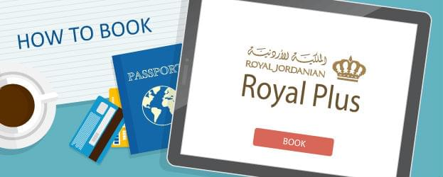 How to Book Royal Jordanian Royal Plus Awards