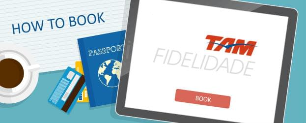 How to Book TAM Airlines Fidelidade Awards