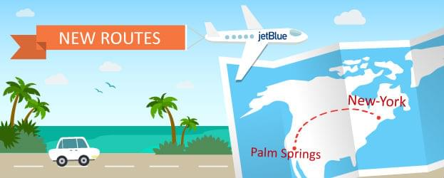 Palm Springs Gets A New Carrier: JetBlue