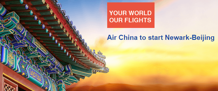 Air China is adding four weekly nonstop flights between Newark and Beijing