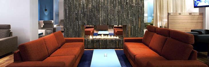 The Saga Lounge in Reykjavik