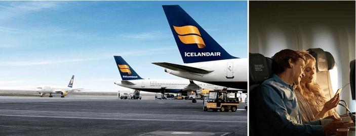 Icelandair has partnered with Alaska Airlines