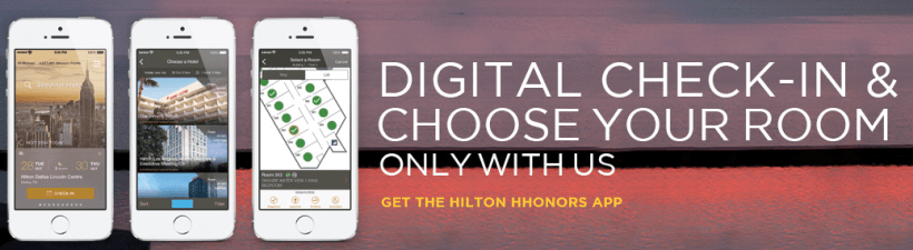 The HHonors app now lets users connect with Uber