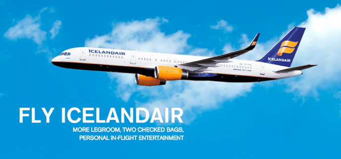 Travel from Orlando to Europe on Icelandair