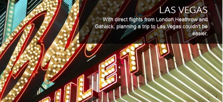 British Airways is adding more flights between London and Las Vegas