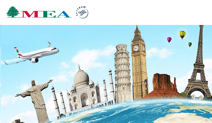 Middle East Airlines is a SkyTeam member