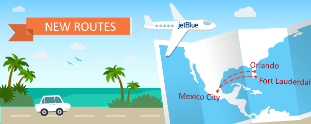 JetBlue Is Rolling Out Service to Mexico City