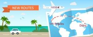 Qatar Airways Announces Flights Between Los Angeles and Doha